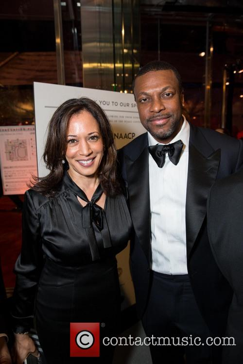 Kamala Harris and Chris Tucker 3