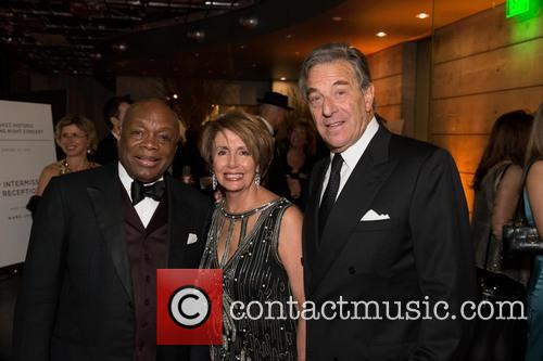 Willie Brown, Nancy Pelosi and Paul Pelosi 2