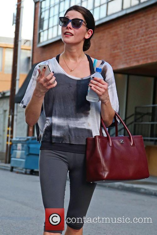 Ashley Greene in high spirits after work out