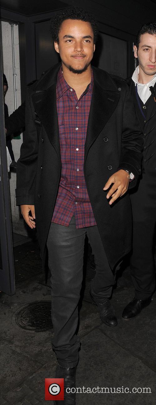 Connor Cruise Leaving Boujis Nightclub
