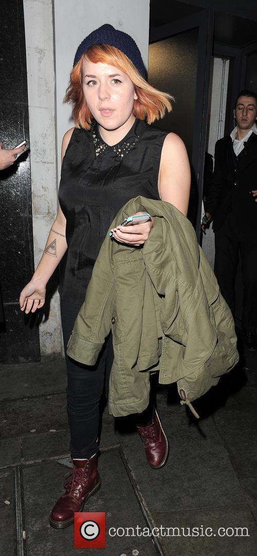 Isabella Cruise Leaving Boujis Nightclub