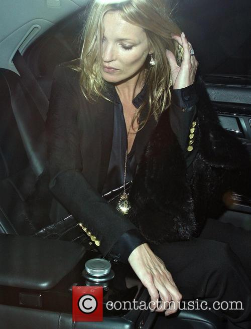 Kate Moss At The Wolseley