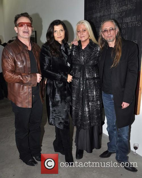 Bono, Ali, Sybille and Guggi 7