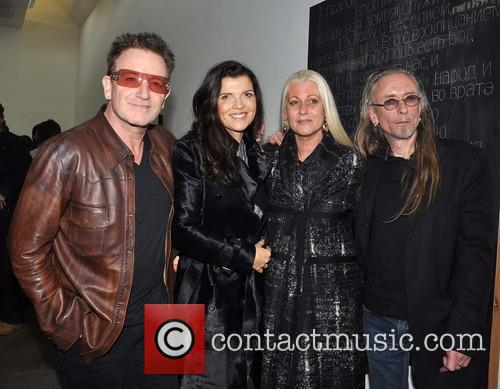 Bono, Ali, Sybille and Guggi 8