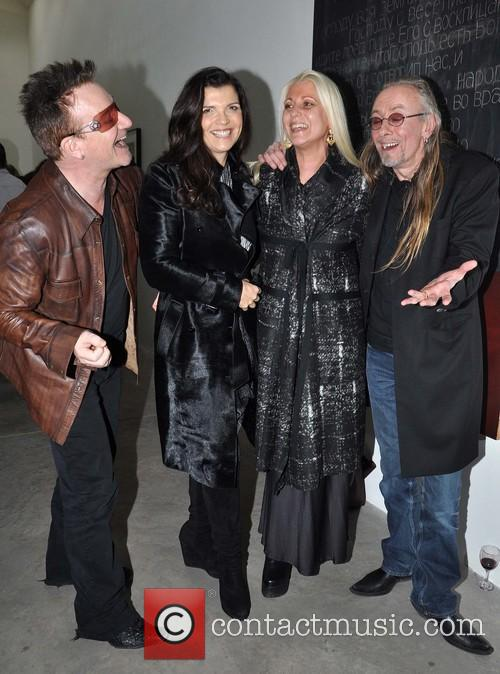 Bono, Ali, Sybille and Guggi 11