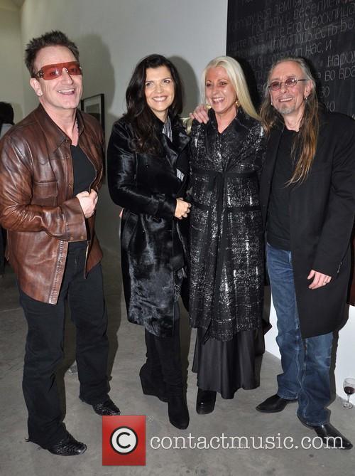 Bono, Ali, Sybille and Guggi