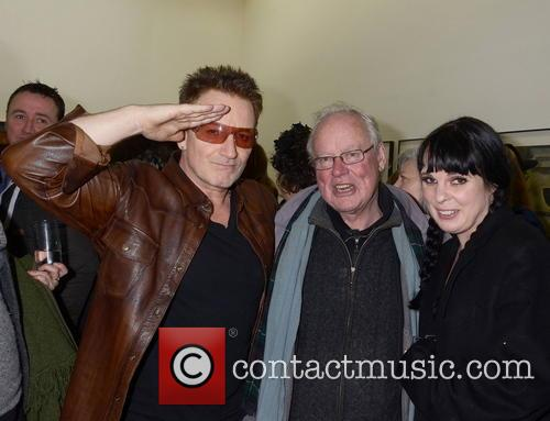 Bono, Brendan Kennelly and Doodle Kinnelly