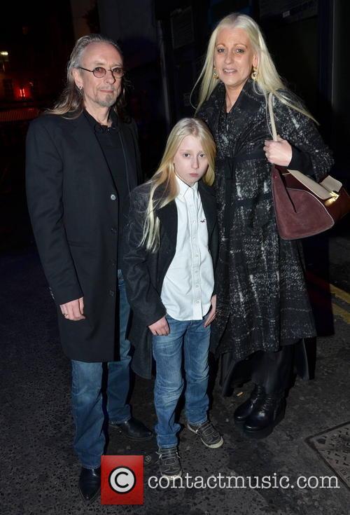 Guggi, Wife Sibylle and Son Gideon Rowan 2