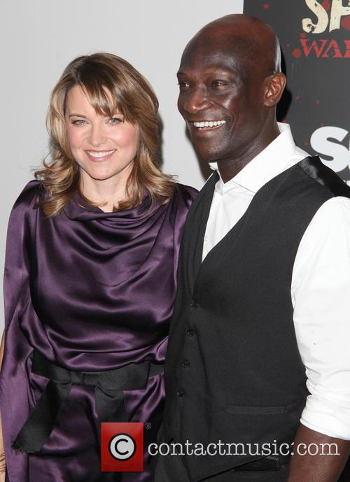 Lucy Lawless and Peter Mensah 5