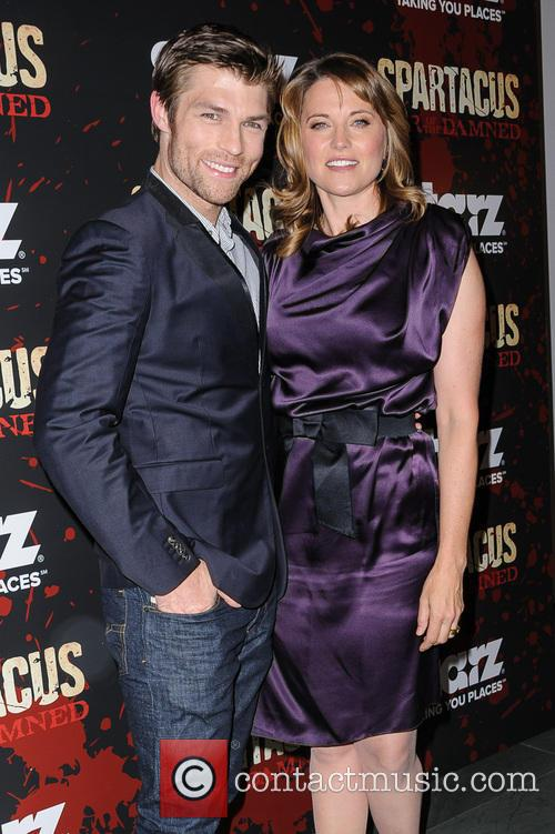 Liam Mcintyre and Lucy Lawless 10