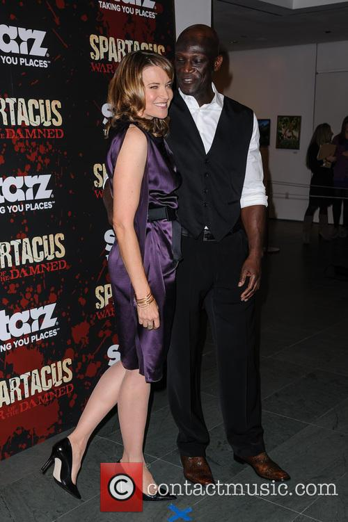 Lucy Lawless and Peter Mensah 1