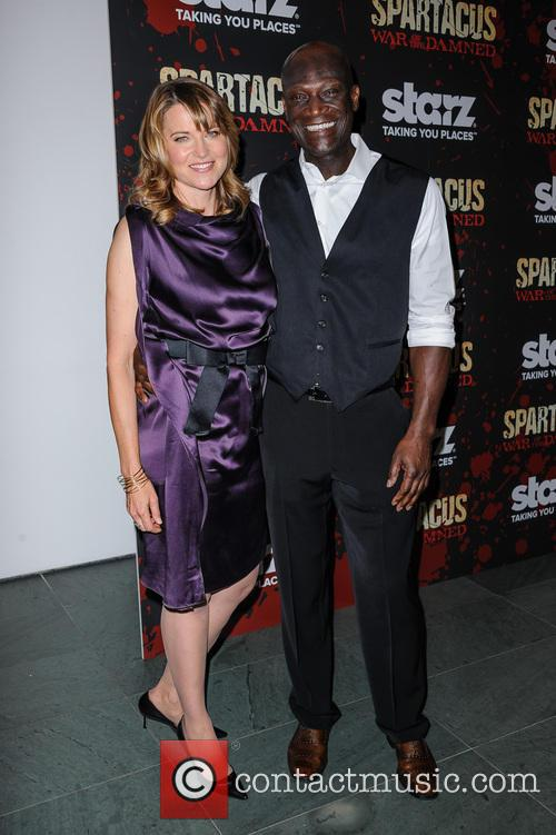 Lucy Lawless and Peter Mensah 3