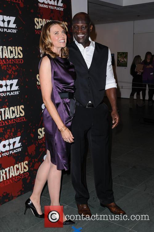 Lucy Lawless and Peter Mensah 4