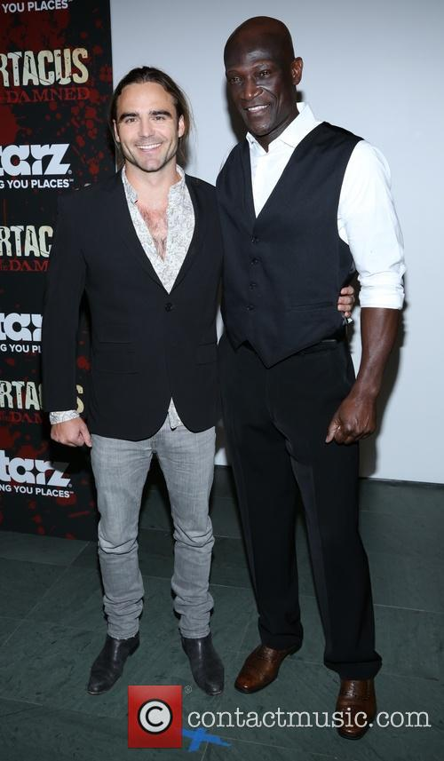 Dustin Clare and Peter Mensah 10