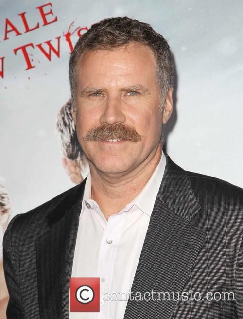 Will Ferrell Flashes His Moustache At The Hansel and Gretel Premiere