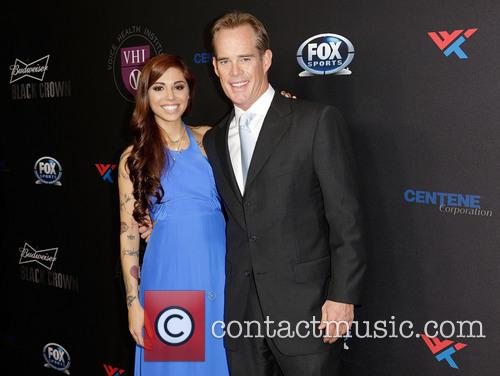 Christina Perri and Joe Buck 3