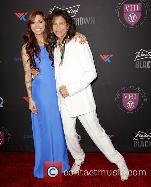 Christina Perri and Steven Tyler 5