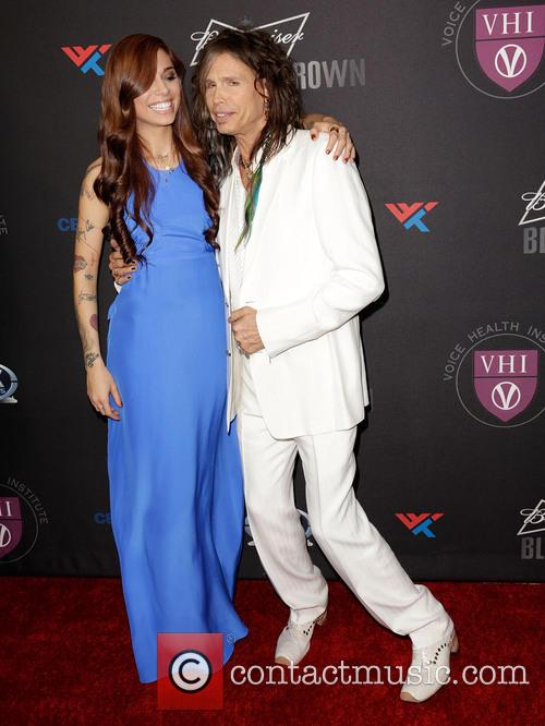 Christina Perri and Steven Tyler 6