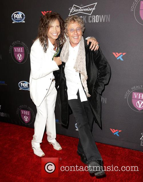 Steven Tyler and Roger Daltrey 4