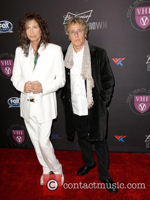 Steven Tyler and Roger Daltrey 7