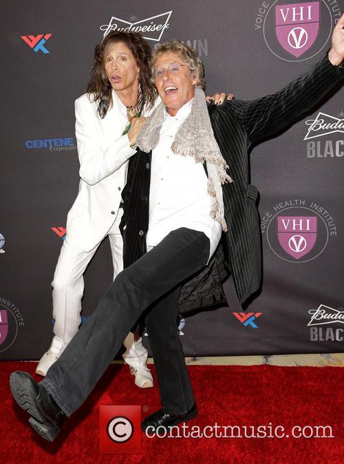 Steven Tyler and Roger Daltrey 9