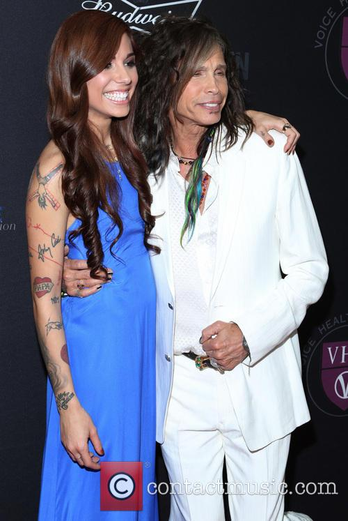 Christina Perri and Steven Tyler 4