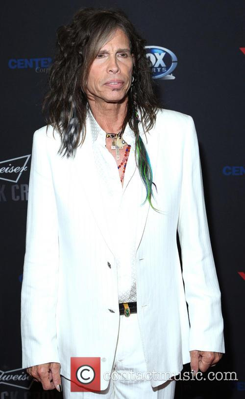 Steven Tyler at the Raise Your Voice Benefit Los Angeles California