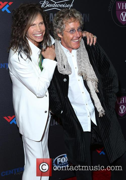 Steven Tyler and Roger Daltrey 2