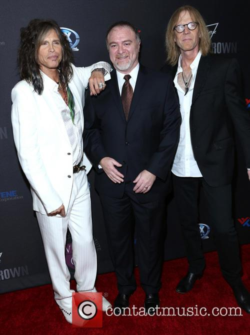 Steven Tyler, Steven Zeitels and Tom Hamilton 3