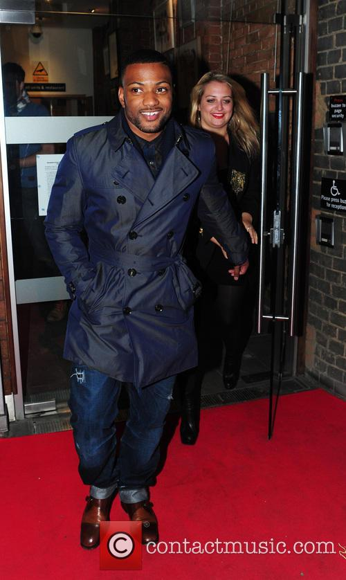 Celebrities leaving Raymond Weil pre-Brit Awards dinner