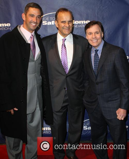 Jorge Posada, Joe Torre and Bob Costas 3