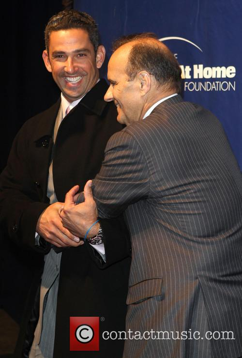 Jorge Posada and Joe Torre 6