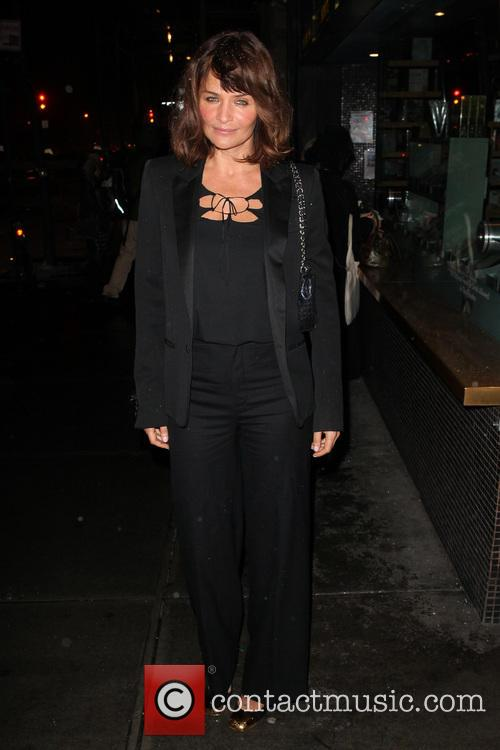 Helena Christensen, Landmark Sunshine Cinema 143 East Houston St NYC