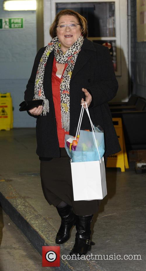 rosemary shrager celebrities at the itv studios 3467800