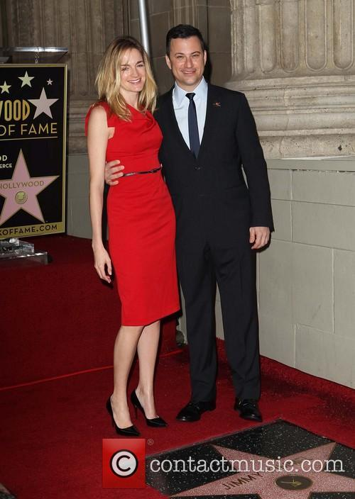 Jimmy Kimmel and fiance Molly McNearney 2