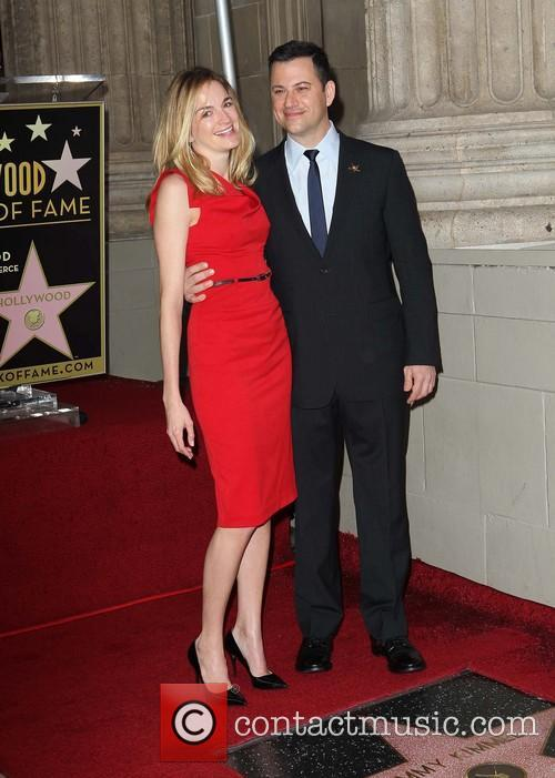 Jimmy Kimmel and fiance Molly McNearney 3