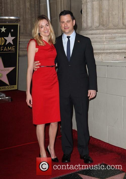 Jimmy Kimmel and fiance Molly McNearney 1