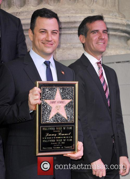 Jimmy Kimmel and Eric Garcetti 5