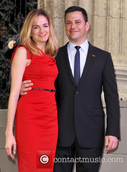 Jimmy Kimmel and Molly McNearney 1