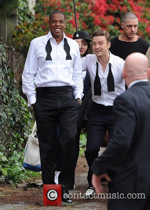 Justin Timberlake, Jay-z and Shawn Carter 2