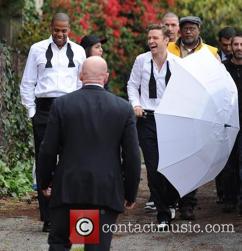 Justin Timberlake, Jay-z and Shawn Carter 4