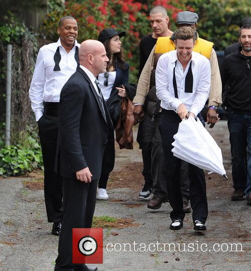 Justin Timberlake, Jay-z and Shawn Carter 6
