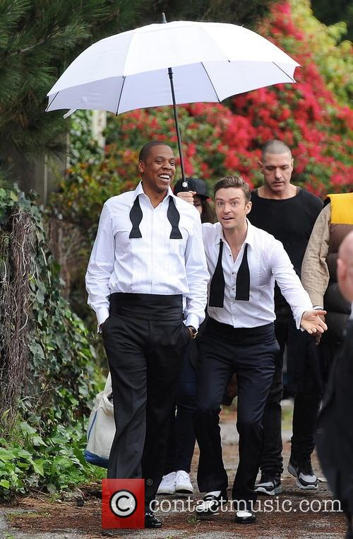 Justin Timberlake, Jay-z and Shawn Carter 7