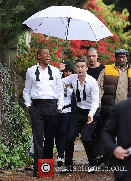 Justin Timberlake, Jay-z and Shawn Carter 11