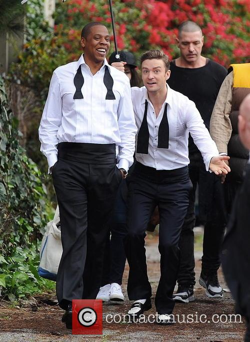 Justin Timberlake, Jay-Z and Shawn Carter 19