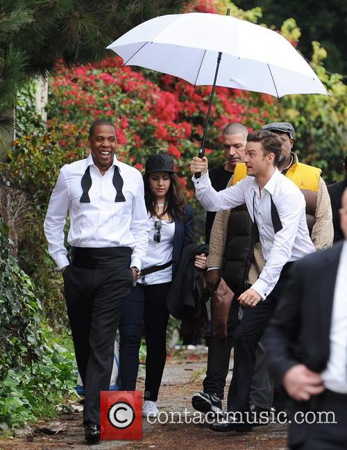 Justin Timberlake, Jay-z and Shawn Carter 1