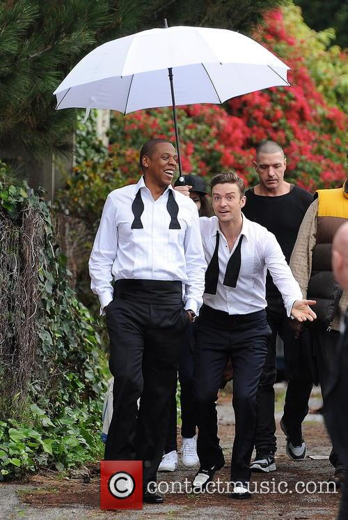 Justin Timberlake, Jay-Z and Shawn Carter 25