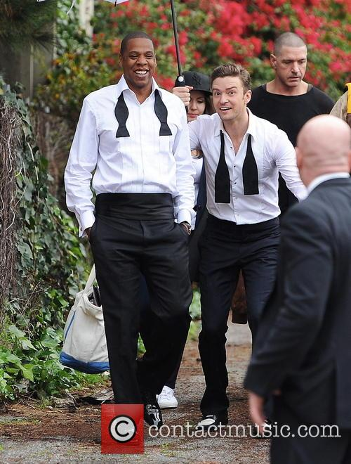 Justin Timberlake, Jay-Z and Shawn Carter 30