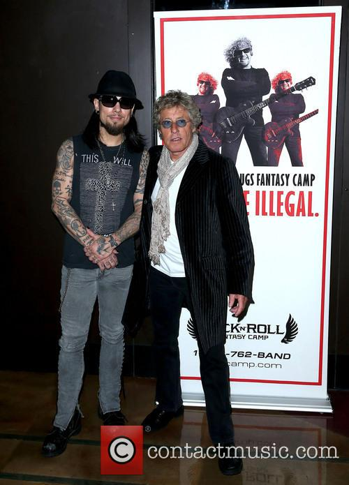 Dave Navarro and Roger Daltrey 2