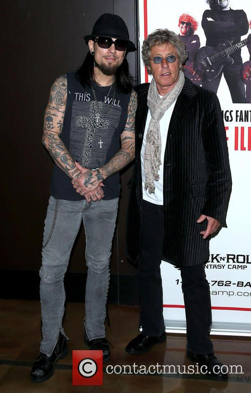 Dave Navarro and Roger Daltrey 3